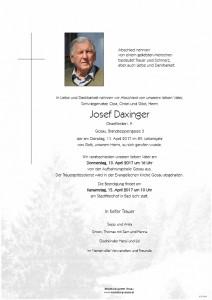 Daxinger Josef