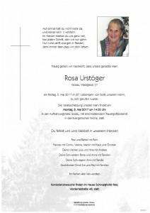 Urstöger Rosa