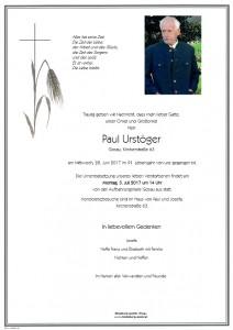 Urstöger Paul