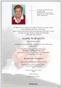 Androschin Josefa