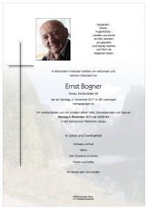 Bogner Ernst