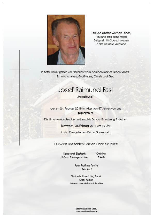 Fasl Josef Raimund
