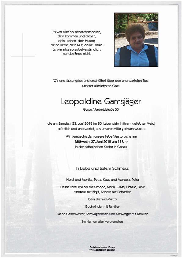 Leopoldine-Gamsjäger