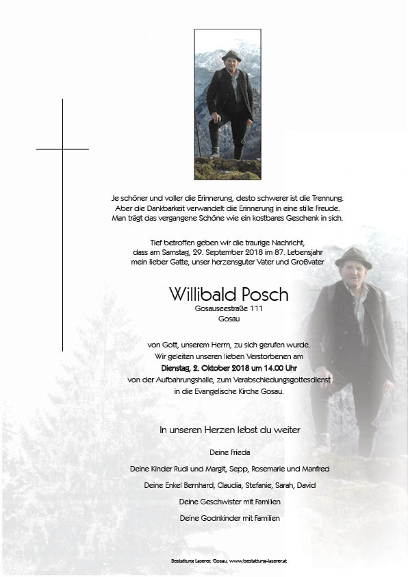 Posch Willibald