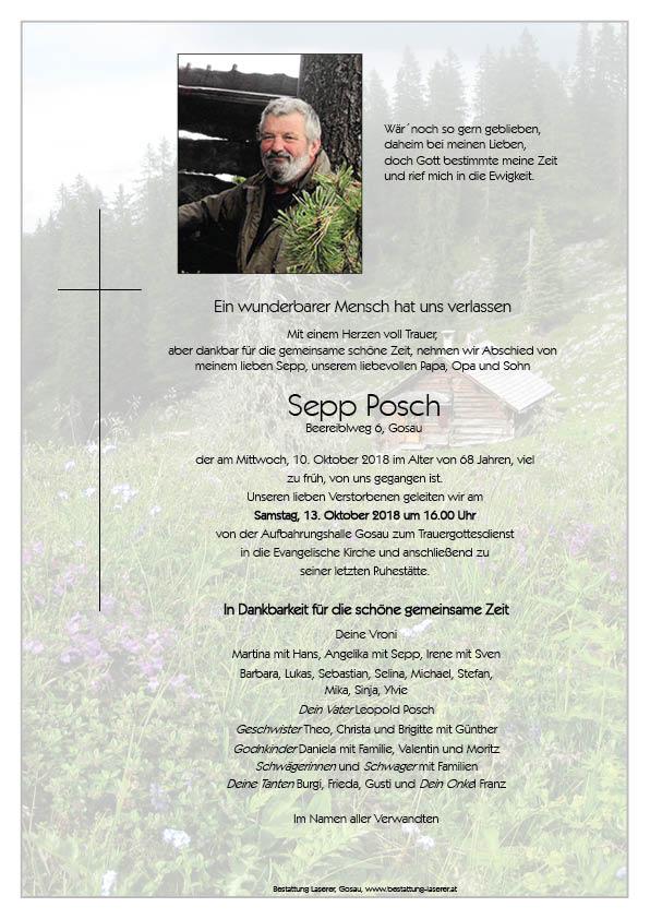 Posch Sepp