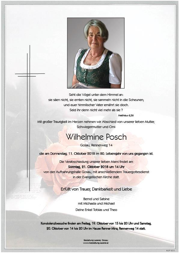 Posch Wilhelmine