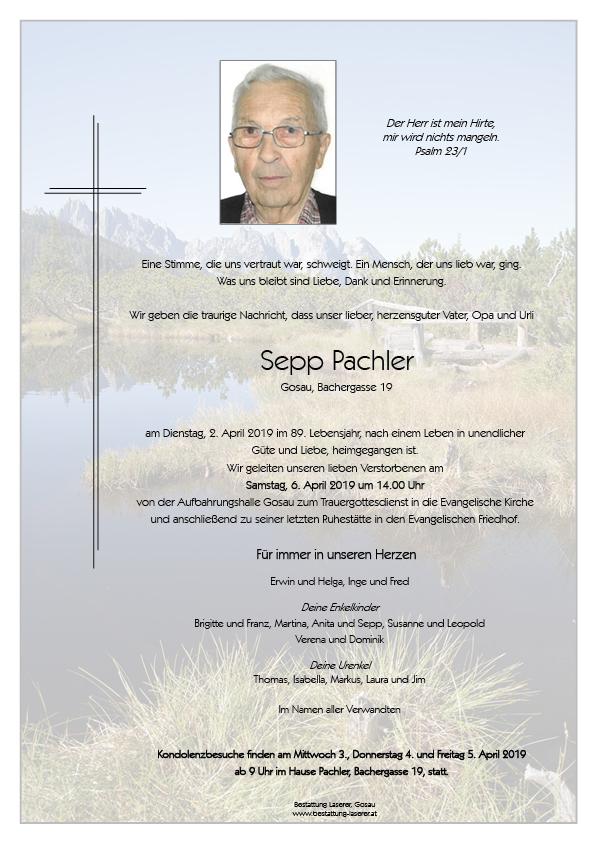 Sepp Pachler