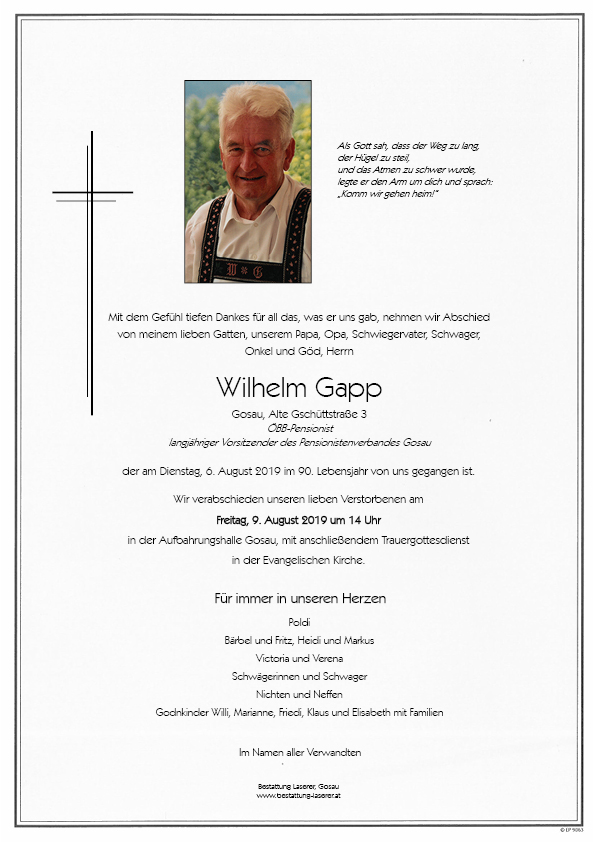 Gapp Wilhelm
