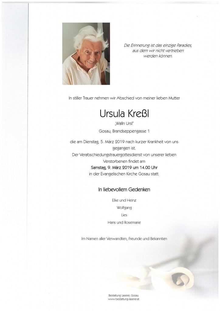 Kreßl Ursula