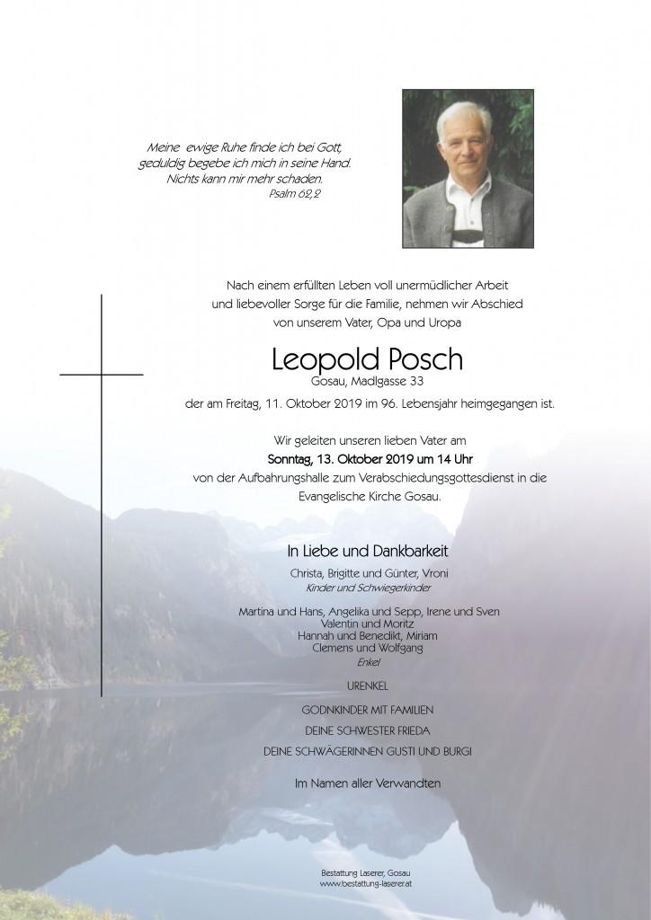 Posch Leopold