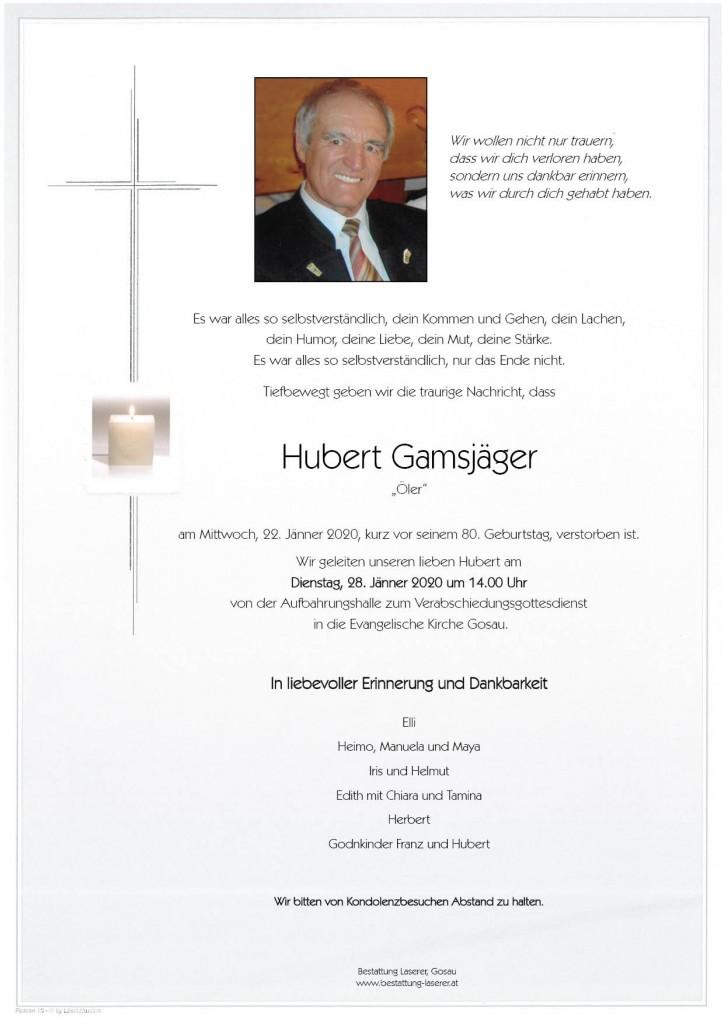 Hubert Gamsjäger